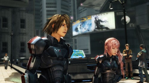 Final Fantasy XIII 2 Mass Effect 3 Armor Image 1
