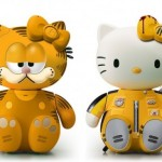 Garfield Kill Bill Hello Kitty