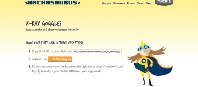 Hackasaurus screenshot