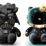 Hello Kitty Darth Vader Daft Punk
