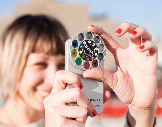 Holga iPhone lens
