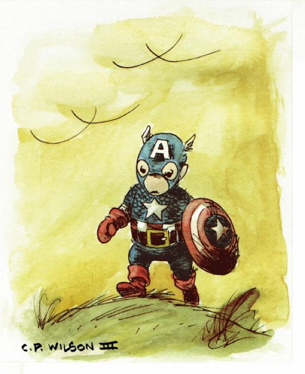 Hundred-Acre-Wood-Avengers-Captain-America