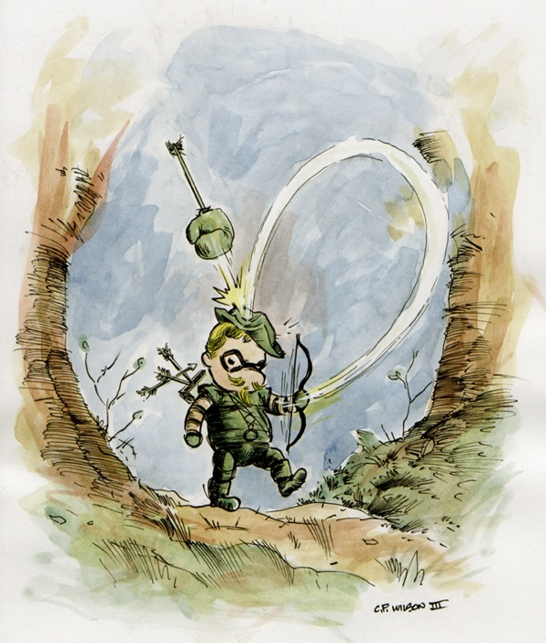 Hundred-Acre-Wood-Avengers-Green-Arrow