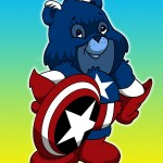 Iconic-Care-Bear-Captain-America