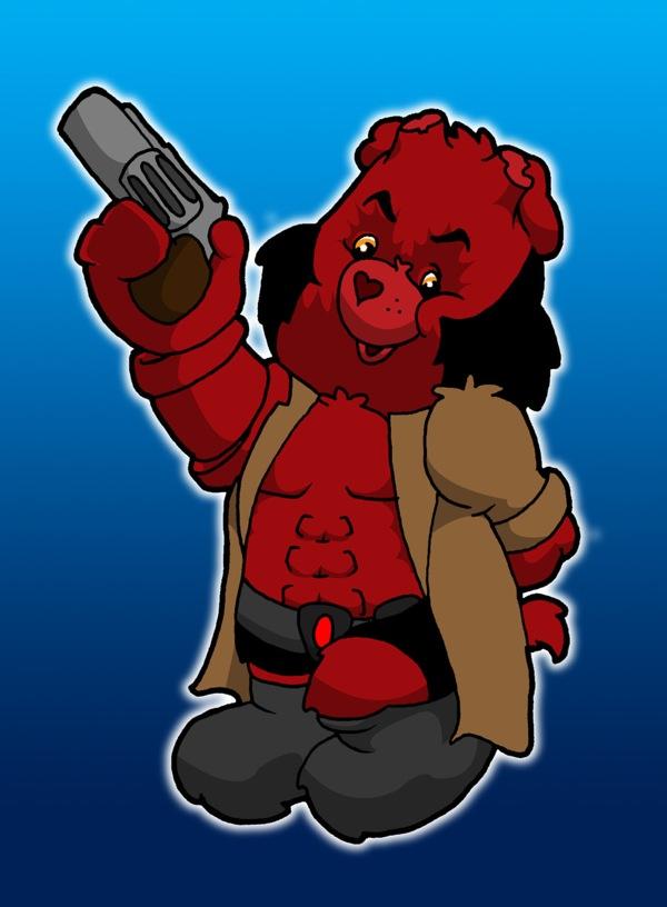Iconic-Care-Bear-Hellboy