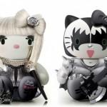 Lady Gaga Kiss Hello Kitty