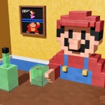 Mario Drinking