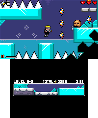 Mutant Mudds eShop 3DS Image 1