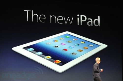 New Apple iPad Stage Event Image