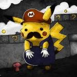 Pikachu Mario