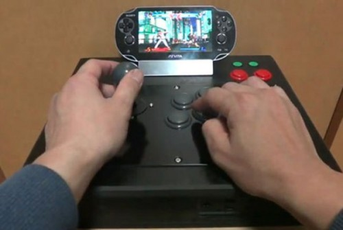 PlayStation Vita Fight Stick Image