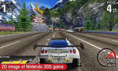 Ridge Racer 3D 3DS Image 1