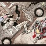 Robocop fight