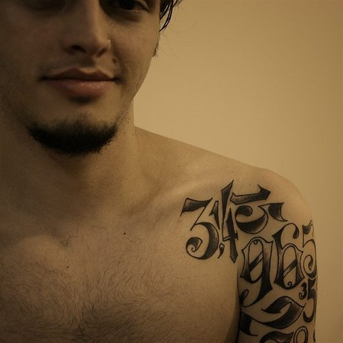 Shoulder-Pi-Tattoo
