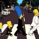 Simpsons Abbey Road Cover