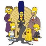 Simpsons Adams Family