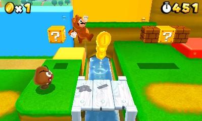 Super Mario 3D Land 3DS Image 1