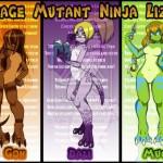 Teenage Mutant Ninja Lizards
