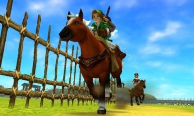 The Legend of Zelda Ocarina of Time 3D 3DS Image 1