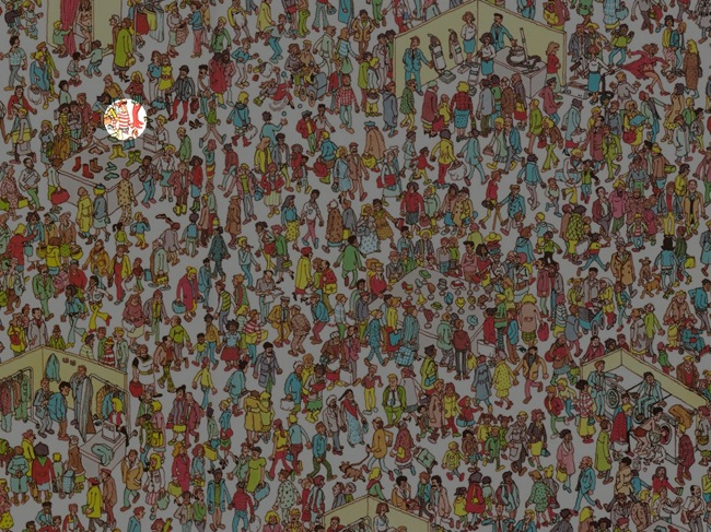 Waldo found with Mathematica