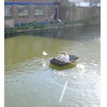 folding boat in action