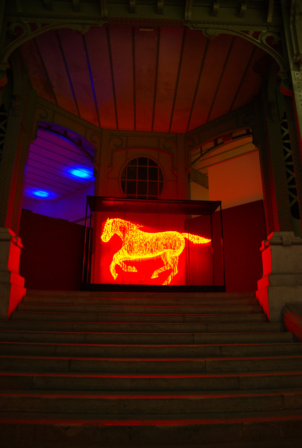Hologram Horse