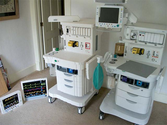 Lego Anesthesia machine