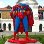 superman sculpture 1