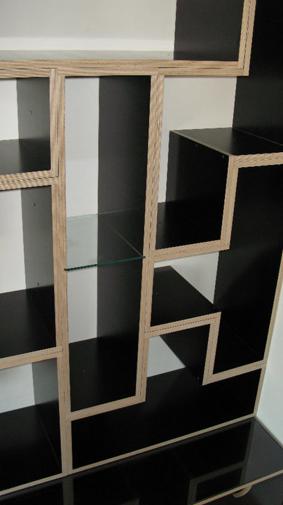 Tetris Shelves close-up