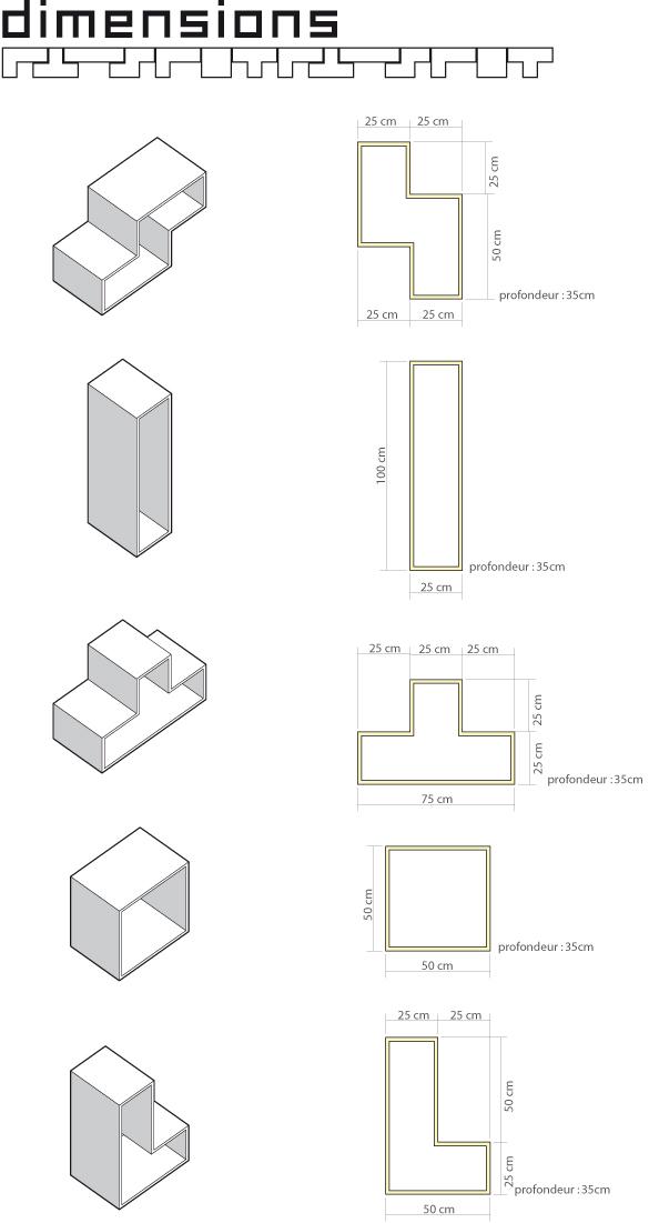 Tetris Shelves Diagram