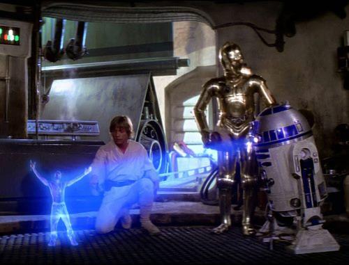 2Pac R2-D2 Hologram