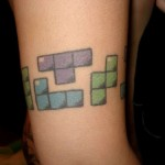 Arm Tetris Tat