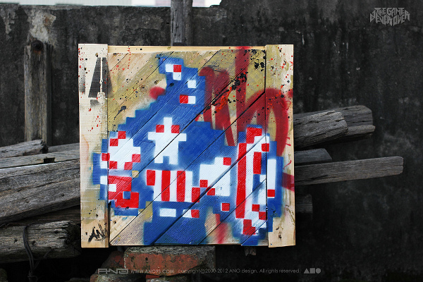 Captain-America-8bit-graffiti