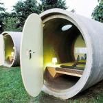 Concrete Barrels Beds