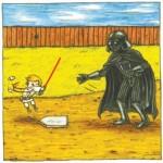 Darth Vader Luke Baseball