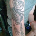 Dinasour Tattoo