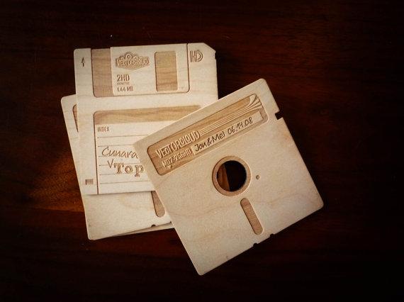 Floppy-disk-coasters