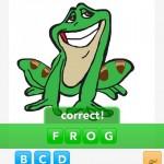 Frog draw something