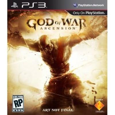 God of War Ascension PS3 Box Art Image