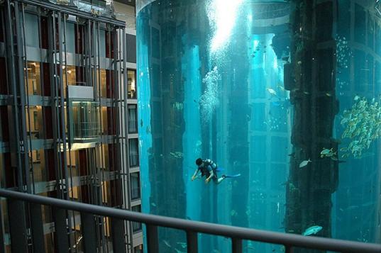 Hotel-aquarium