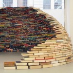 Igloo Made from Books