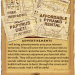 Internet Plagues Advertisments