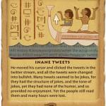 Internet Plagues Inane-Tweets