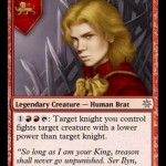 Joffery Baratheon card