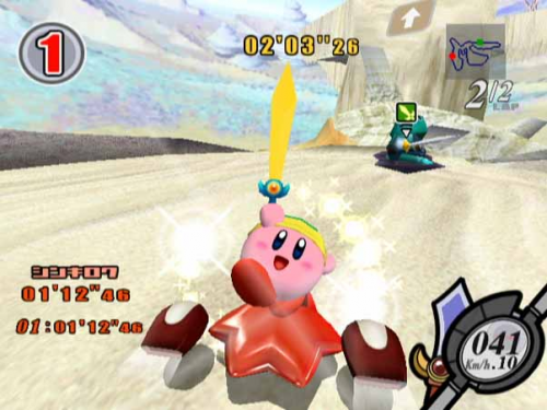 Kirby Air Ride Image 1