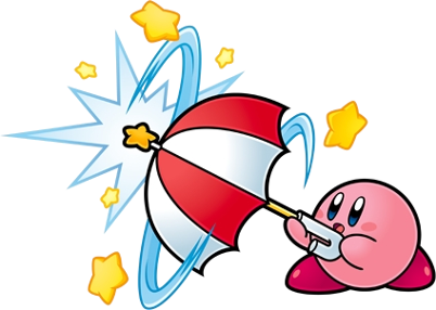 Kirby Parasol Ability Image 1