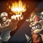 Mario vs Dragonball Z