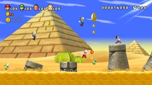 New Super Mario Bros Wii U E3 2011 Demo Image