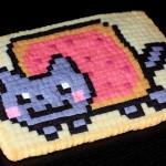 Nyan Cat Pixel Cookie