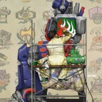 Optimus Prime Norman Rockwell